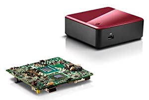 NUC Kit DC3217IYE Intel® Dual-Core Barebone mit Intel® CoreTM i3-3217U Prozessor (1,8 GHz), HD Graphics 4000 mit 2x HDMI, nicht vorhanden, Intel® High Definition Audio über HDMI, Gigabit-LAN