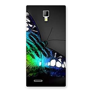 Impressive Butterflie Power Multicolor Back Case Cover for Micromax Canvas Xpress A99