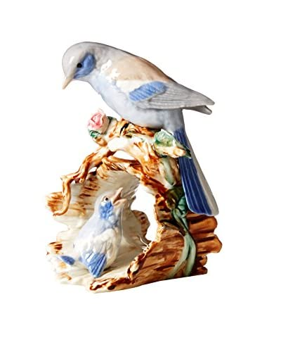Dynasty Gallery Birds on Log, Multi