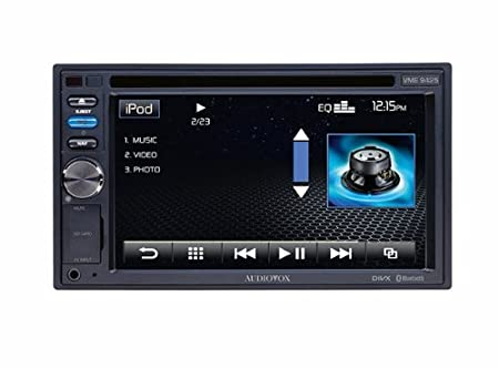 Audiovox D1506320 Autoradio CD/DVD Noir