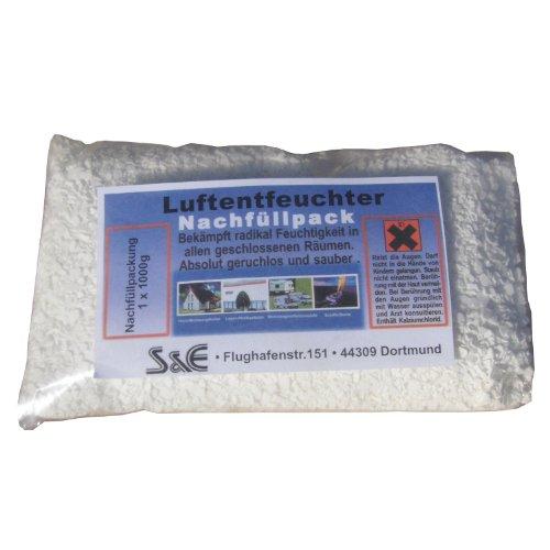 Luftentfeuchter Granulat 1Kg Raumentfeuchter Nachfüllpack