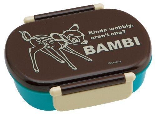 食洗機対応 タイトランチボックス 小判 360ml バンビ ディズニー