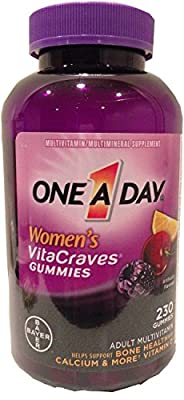 Women's Vitacraves Gummies Adult Multivitamin 230 Gummies