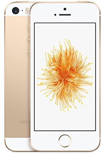 Apple 2016 iPhone SE SIMフリー 4インチ 【64GB ゴールド】- 米国版SIMフリー [並行輸入品]