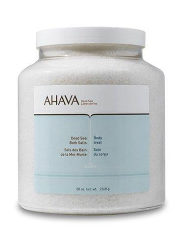 AHAVA Dead Sea Bath Salts 5.0 lbs (80 oz)