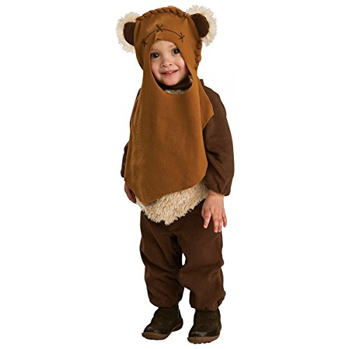 [Ewok Costume Toddler Kids Star Wars Halloween Fancy Dress For Toddler 1-2 Years] (Elephant Bunting Costumes)