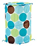 Sassy Pop Up Portable Organizer, Blue Mod