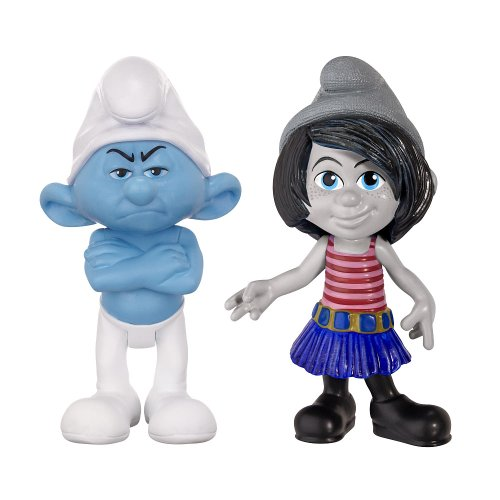 Smurfs Grab Em's 2 Pack - Grouchy and Vexy