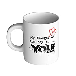StyleO Coffee Mug My thought of the day is you