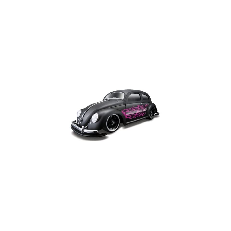 Maisto R/c 110 Volkswagen Beetle 1951 Black Radio Control