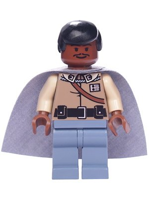 LEGO Star Wars: Lando Calrissian (General Attrezzatura) Minifigura