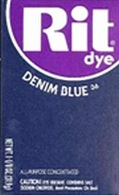 Rit Dye 32 g Denim Blue Powder (6-Pack)