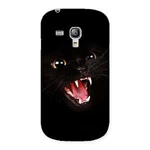 Ajay Enterprises Scar Cat Back Case Cover for Galaxy S3 Mini