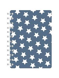 Go Stationery A5 Notebook Blue Stars