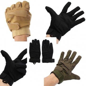 Sport Caccia airsoft tattico militare di equitazione guanti pieni della barretta