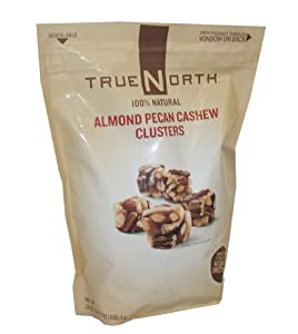 True North Almond Pecan Cashew Clusters, 24 Oz (Pack of 3)