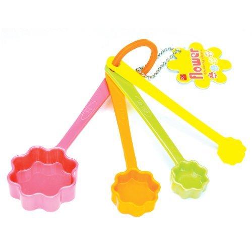 DCI Flower Measuring Spoons, Set of 4