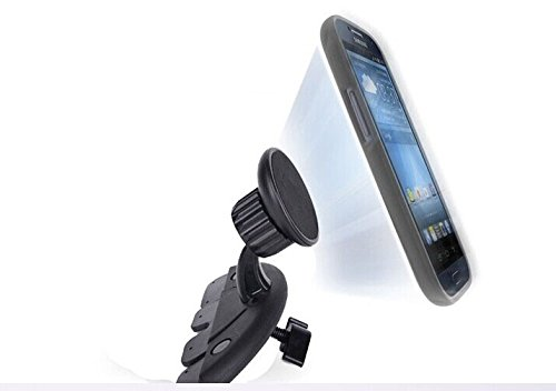 Generic Magnet Car Cd Slot Mount Stand Dock Holder Cradle For Samsung Galaxy S1/S2/S3/S4/S5