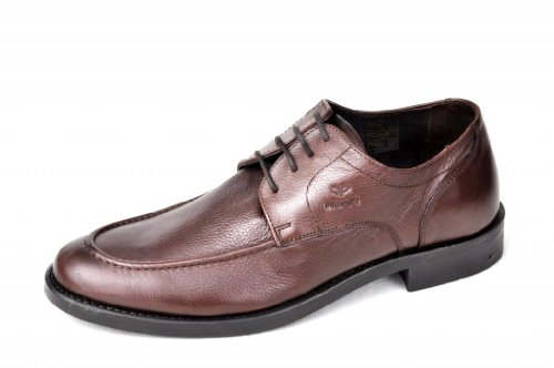 Pinellii Men's Brown TPR Rho Supreme Formal Shoes (P05010110BRO)