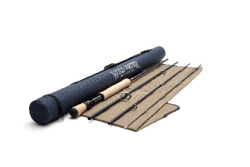 Wild Water Fly Fishing 8 Weight, 9 Foot 4 Piece Saltwater Fishing Rod