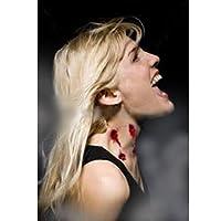 Not Too SweetTats Deep Werewolf Bite Temporary Tattoo Pack - One Bleeding Bite Tattoo Per Pack by Mix It & Stix It