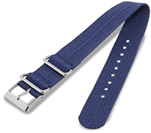Timex Watch Bands T7B903GZ 20 -mm Weekender Replacement Strap Navy Watch Strap