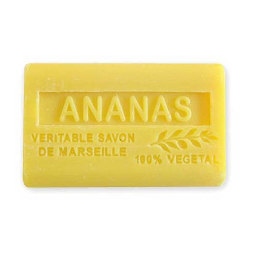 (南仏産マルセイユソープ)SAVON de Marseille パイナップルの香り(SP033)(125g)