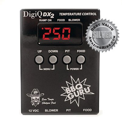 DigiQ BBQ Temperature Control, Digital Meat Thermometer, Big Green Egg Cooker or Ceramic (Green Egg Bbq Accessories compare prices)