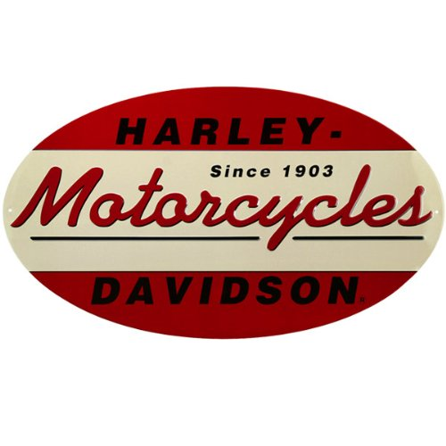 Harley-Davidson 1903 Oval Metal Sign