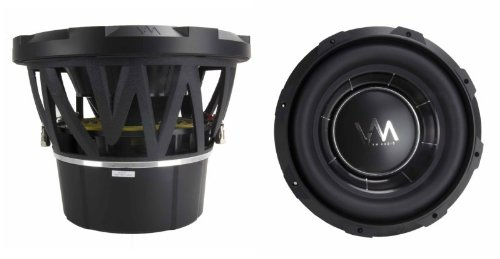 """2) Vm Audio Ecw120 Encore 12"""" Competition Car Subwoofers Subs 6000W Dvc (Pair)"""