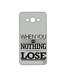 Vogueshell When You Got Nothing Printed Symmetry PRO Series Hard Back Case for Samsung Galaxy On7