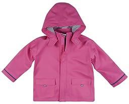 JoJo Maman Bebe Baby Girls\' Fisherman\'s Jacket, Fuchsia, 18 24 Months