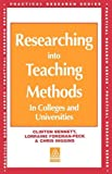 img - for Researching into Teaching Methods: In Colleges and Universities (Practical Research Series) book / textbook / text book