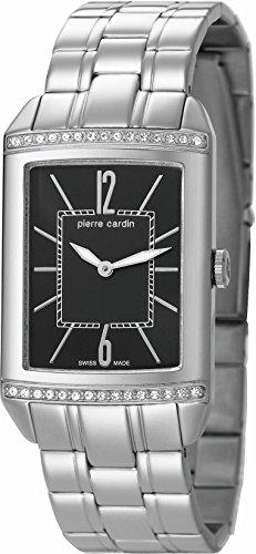 Pierre Cardin Celebrite Orologio da Polso da Donna, Cinturino in Acciaio Inox