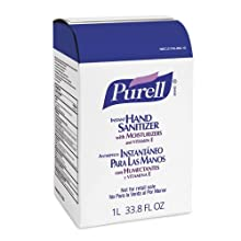 PURELL 2156-04 Advanced Instant Hand Sanitizer, 1,000 mL NXT Space Saver Refill (Case of 4)