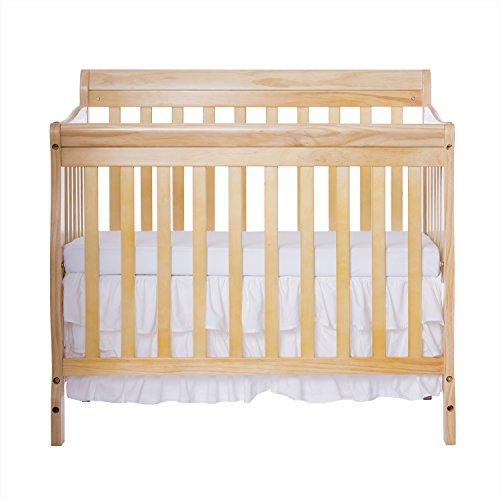Dream On Me 3 in 1 Aden Convertible Mini Crib, Natural (Convertible Crib Natural compare prices)