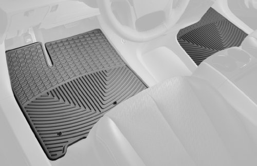 Weathertech Trim To Fit Front Rubber Mats For Select Bmw X5/X6 Models (Grey)