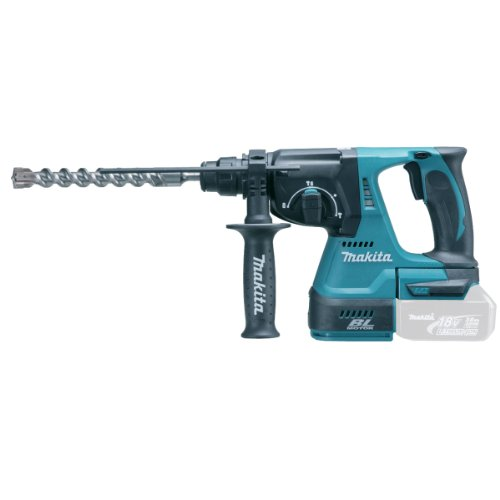 Makita DHR242Z 18 V 24 mm Cordless Li-ion SDS Plus Rotary Hammer Drill