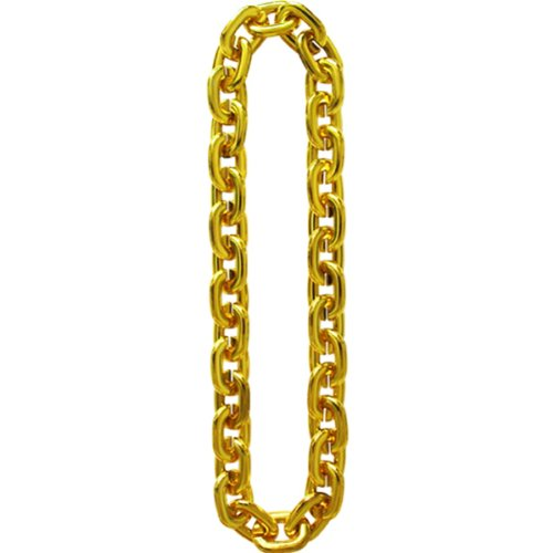 Fake Gold Chain Costume Bling