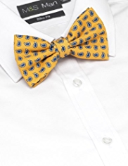 Limited Collection Paisley Print Bow Tie