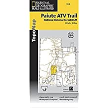 National Geographic Maps Trails Illustrated Map Paiute ATV Trail