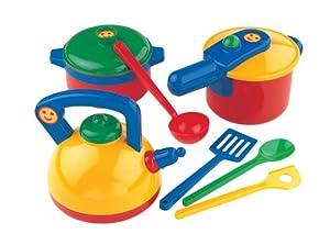de cocina set ollas de cocina con utensilios juguetes