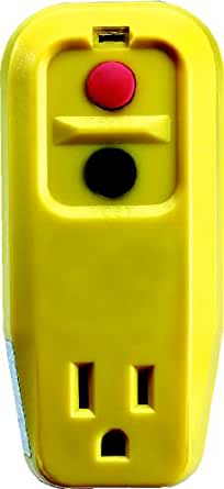 Tower Manufacturing 30339005 15 amp 3-Wire GFCI Outlet Adapter