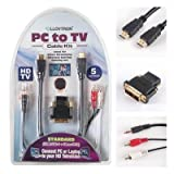 Lloytron Standard HDMI PC to TV Cable Kit