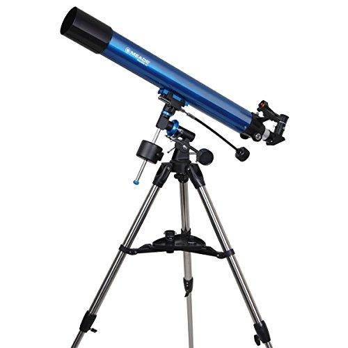 Meade 216002 Polaris 80-Millimeter German Equatorial Refractor (Blue)