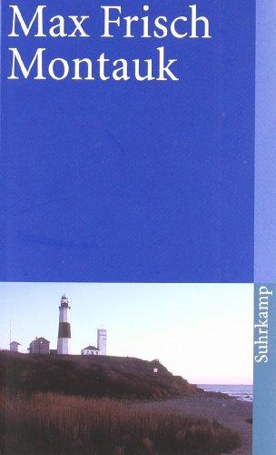 Montauk: Eine Erzählung (suhrkamp taschenbuch) buch von Max Frisch ...