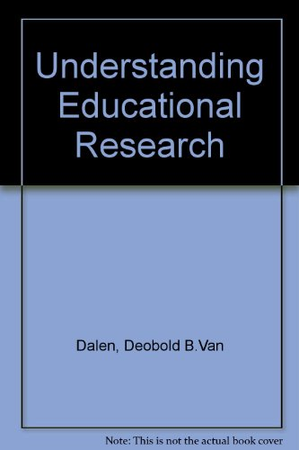 Understanding educational research: An introduction PDF