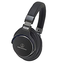 audio-technica 密閉型ポータブルヘッドホン ハイレゾ音源対応 ブラック ATH-MSR7 BK