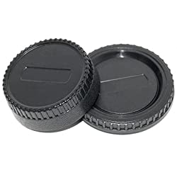 JJC L-R2 Front and Rear Lens Cap for Nikon Body and Lens