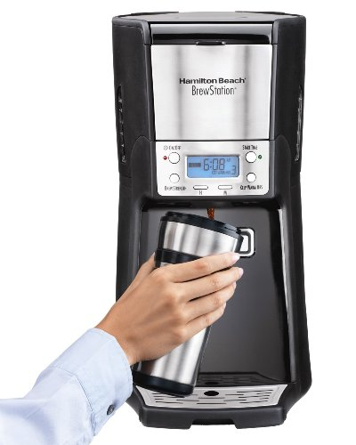 Fantastic Deal! Hamilton Beach 12-Cup Coffee Maker, Programmable Brewstation Summit Dispensing Coffe...